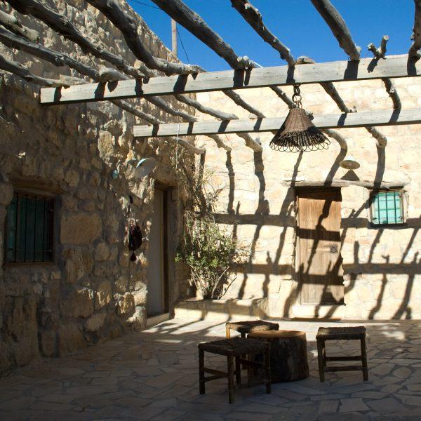 The upper level in Beit al Taybeh