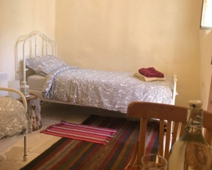 Tibn twin room in Beit al Taybeh Guesthouse